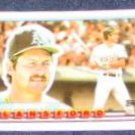 1989 Topps Big Carney Lansford #57 Athletics