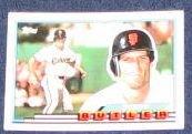 1989 Topps Big Brett Butler #62