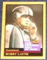 1991 Hall of Fame Bobby Layne #86
