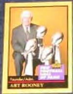 1991 Hall of Fame Art Rooney #122