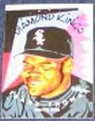 1995 Donruss Diamond Kings Frank Thomas #DK1 White Sox