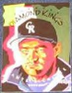 1995 Donruss Diamond Kings Dante Bichette #DK4 Rockies