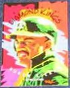 1995 Donruss Diamond Kings Ruben Sierra #DK5 Athletics