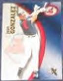 2001 Fleer eX Juan Gonzalez #94 Indians