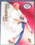 2001 Fleer eX Mike Lieberthal #65 Phillies