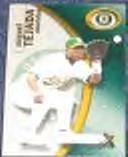 2001 Fleer eX Miguel Tejada #70 Athletics
