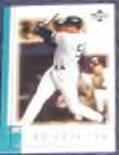 01 UD Reserve Bernie Williams #80 Yankees