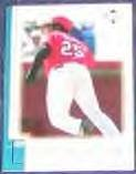 01 UD Reserve Dmitri Young #174 Reds
