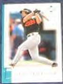 01 UD Reserve Mike Bordick #40 Orioles