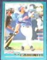 2001 Topps Traded Ken Caminiti #T8 Braves