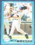 2001 Topps Traded Mark Kotsay #T65 Padres