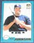 2001 Topps Traded Ben Johnson #T179 Padres