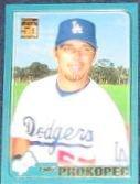 2001 Topps Traded Luke Prokopec #T41 Dodgers