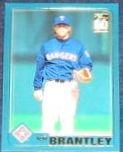 2001 Topps Traded Jeff Brantley #T74 Rangers