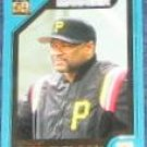 2001 Topps Traded Manager Lloyd McClendon #T149 Pirates