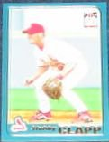 2001 Topps Traded Stubby Clapp #T176 Cardinals