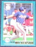 2001 Topps Traded Brad Wilkerson #T201 Expos