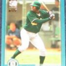 2001 Topps Traded Freddie Bynum #T217 Athletics