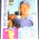 2001 Topps Traded Bret Saberhagen #104T Royals