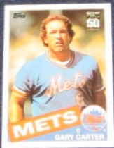 2001 Topps Traded Gary Carter #17T Mets