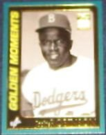 2001 Topps Golden Moments Jackie Robinson #783 Dodgers