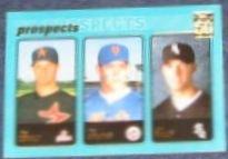 2001 Topps Prospects Oswalt/Strange/Rauch #727