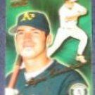 1999 Pacific Aurora Ryan Christenson #134 Athletics