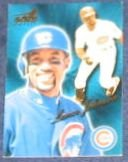 1999 Pacific Aurora Lance Johnson #34 Cubs