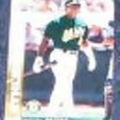 2002 Leaf Miguel Tejada #37 Athletics
