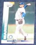 2002 Leaf Freddy Garcia #99 Mariners