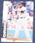 2002 Leaf David Segui #57 Orioles