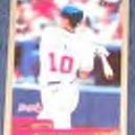 2000 Topps Chipper Jones #180 Braves