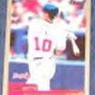 2000 Topps Chipper Jones #180 Braves