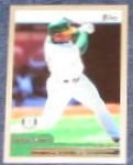 2000 Topps Tim Raines #71 Athletics