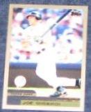 2000 Topps Joe Girardi #84 Yankees