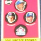 2001 Upper Deck Vintage Rookies #343 Blue Jays