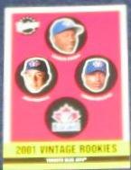 2001 Upper Deck Vintage Rookies #343 Blue Jays