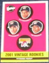 2001 Upper Deck Vintage Rookies #368 Pirates