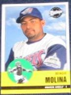 2001 Upper Deck Vintage Bengie Molina #4 Angels