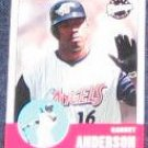 2001 Upper Deck Vintage Garret Anderson #9 Angels
