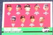 2001 Upper Deck Vintage Team Lineup #80 Orioles