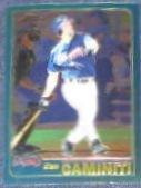 2001 Topps Traded Chrome Ken Caminiti #T8 Braves