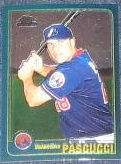 2001 Topps Traded Chrome Rookie Valentino Pascucci #T237