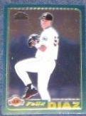 2001 Topps Traded Chrome Rookie Felix Diaz #T220 Giants