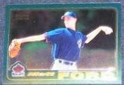 2001 Topps Traded Chrome Rookie Matt Ford #T222