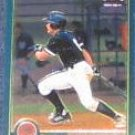 2001 Topps Traded Chrome Rookie Bronson Sardinha #T260