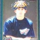 2001 Topps Traded Chrome Rookie Jeff Mathis #T258 Angel