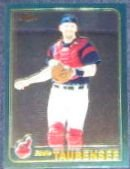 2001 Topps Traded Chrome Eddie Taubensee #T49 Indians