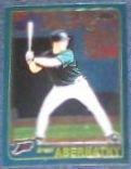 2001 Topps Traded Chrome Brent Abernathy #T91 Devil Ray