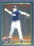 2001 Topps Traded Chrome Jeff Nelson #T39 Mariners
